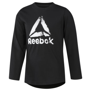 Boys Training Essentials Longsleeve Black DH4343