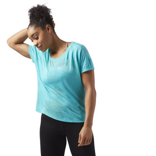 T-shirt Speedwick Women's Turquoise/Solid Teal CF5881