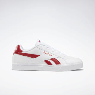 Reebok Royal Complete 3.0 Low Shoes White / Excellent Red DV8650