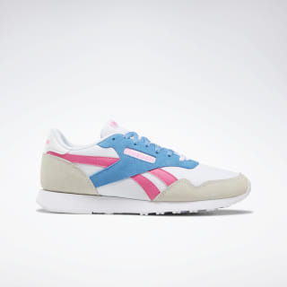 Reebok Royal Ultra Shoes White / Solar Pink / C.Blue DV9524