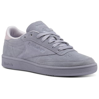 Reebok Club C 85 Nubuck Purple Fog/Quartz CM9055