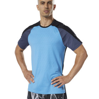 Remera One Series Training SmartVent Move Cyan DY8023