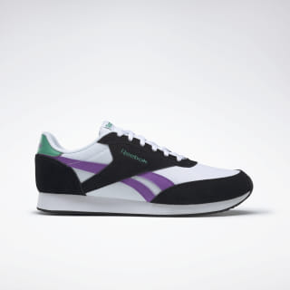 Zapatillas Reebok Royal Classic Jogger 2.0 Black / White / Grape / Emerald DV6565