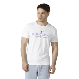 Reebok Classics x Walk of Shame Crewneck T-Shirt White D98835
