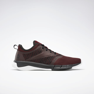 Reebok Print Run 3.0 Shoes Maroon / Black / White EF8824