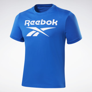 T-shirt Graphic Series Reebok Stacked Humble Blue FP9144