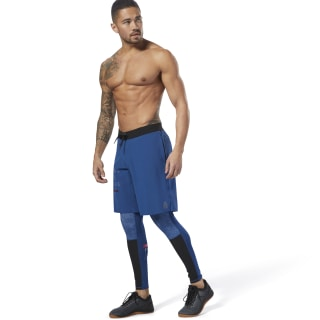 Legginsy Reebok CrossFit Compression Bunker Blue CY4975