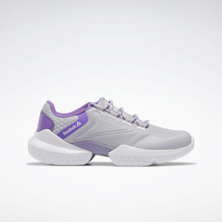 Reebok Split Fuel Shoes Cold Grey 2 / Grape Punch / Silver Met. EF4013