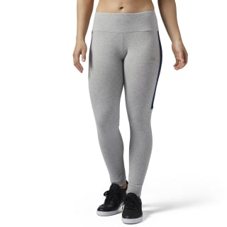 Reebok Classics Franchise Leggings Medium Grey Heather BP8302