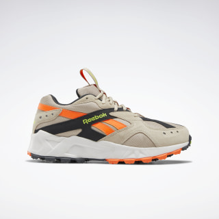 Aztrek 93 Adventure Shoes Modern Beige / True Grey 8 / Solar Orange EG6008