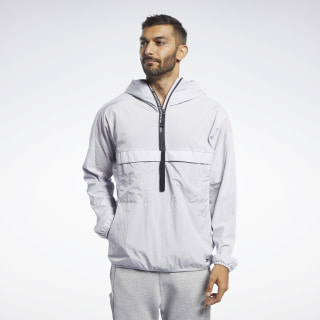 Training Supply Anorak Jacket Sterling Grey FJ4593