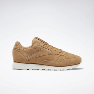 Кроссовки Reebok Classic Leather SOFT CAMEL/CHALK DV8507