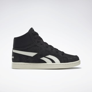 Reebok Royal Prime Mid Shoes Black / Chalk DV9643