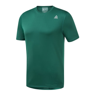 Run Essentials Tee Clover Green EC2528