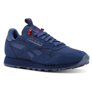 Classic Leather Explore-Bunker Blue/Blue Slate/Primal Red CN3616