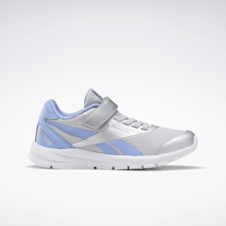 Reebok Rush Runner 2.0 Shoes Silver Metallic / Cornflower Blue / White EH0615