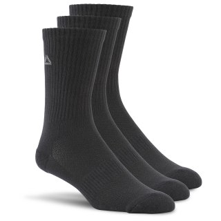 Sport Essentials Unisex Crew Sock - 3pack Black AJ6243