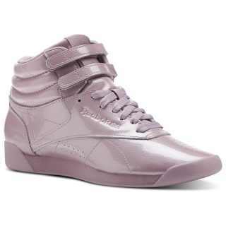 Zapatillas Freestyle HI Patent-Infused Lilac CN3992