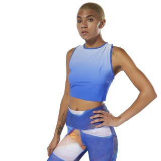 Crop top Yoga Ombre Crushed Cobalt DU4482