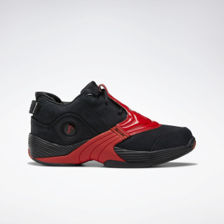 Answer V Basketball Shoes Black / Power Red / Black DV8285
