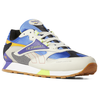 Classic Leather ATI 90s Cream/Sand/Cobalt/Lime DV5374