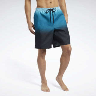 "Reebok Sunset 9"" Volley Swim Shorts Multi EW5799"