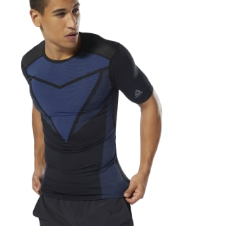 T-shirt de compression Training ACTIVCHILL Vent Crushed Cobalt DU3961