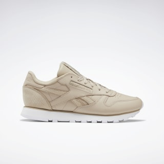 Classic Leather Modern Beige / Sand Beige / White EF3256