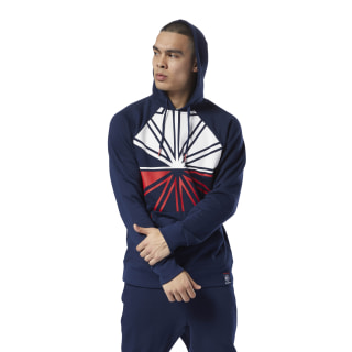 HOODED SWEAT AC F DIS OTH collegiate navy DH2046