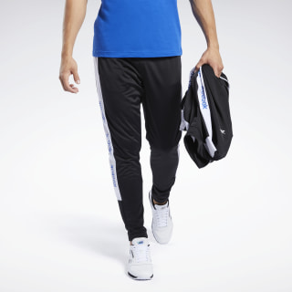 Pantalones Training Essentials Track Black FK6136