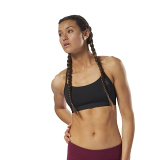 Reebok CrossFit Front Rack Sports Bra Black/Black CY5659