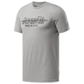 Reebok CrossFit® USA Move T-Shirt Medium Grey Heather DT9450
