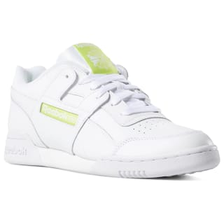 Workout Plus White / Neon Lime DV4315