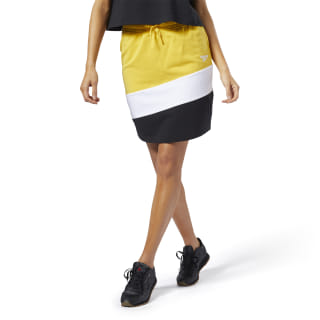 Classic Vector Jersey Skirt Toxic Yellow EJ0260