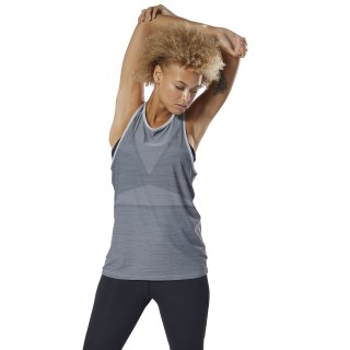 ACTIVCHILL Vent Tank Top Medium Grey Heather DV1862