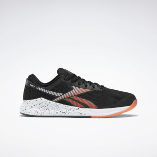 Кроссовки Reebok Nano 9 Black / White / Vivid Orange FV5909