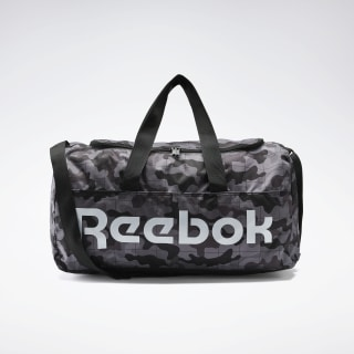 Active Core Graphic Duffel Bag Medium Black / Pure Grey 6 FQ5303