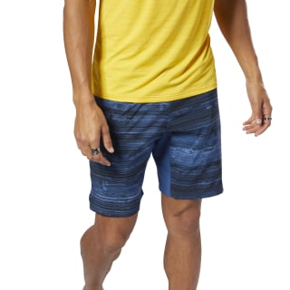 Speed Shorts - AOP Bunker Blue DN6031
