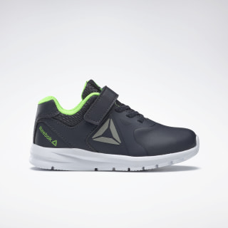 Reebok Rush Runner Shoes Navy / Green / Pewter DV8799
