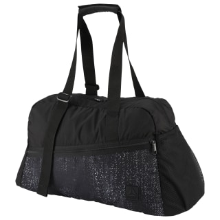 Enhanced Active Graphic Grip Duffel Bag Black DU2788