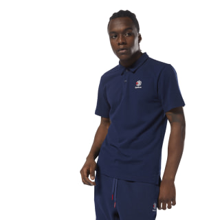 Classics Foundation Polo Collegiate Navy DH2072