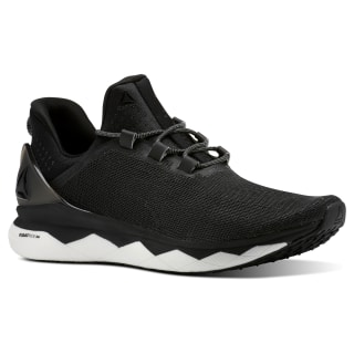 Reebok Floatride Run Smooth Strtch-Black / White / Tin Grey CN4646