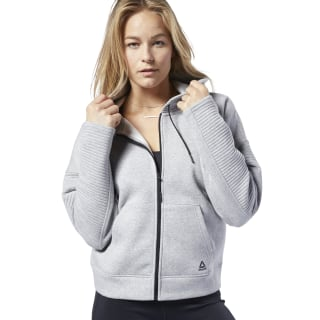 Workout Ready Hooded Sweatshirt Medium Grey Heather DY8088