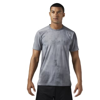 Combat Spraydye Tee Grey/Black BQ5790