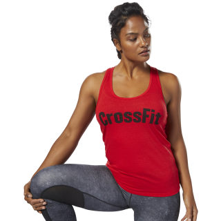 Reebok CrossFit F.E.F Graphic Tank Primal Red DP1226