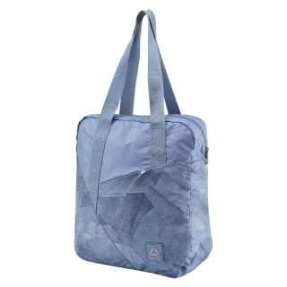 Women's Foundation Graphic Tote Bunker Blue D56075