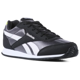 Reebok Royal Classic Jogger 2 Black / True Grey / Neon Lime / White DV4024