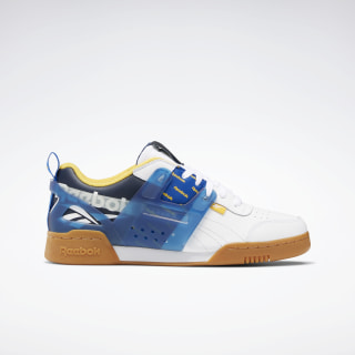 Workout Plus ATI Shoes White / Collegiate Navy / Humble Blue EH0135