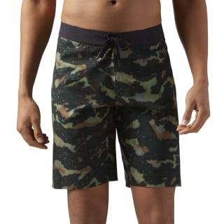 Reebok CrossFit Splash Camo Shorts Army Green CD4511