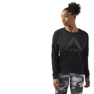 Felpa Speedwick Crew Neck Black CF5851
